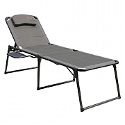 Quest Elite Naples Pro Lounger with Side Table