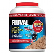Fluval Colour Enhancing Flakes Fish Food 32g