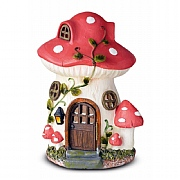 Smart Solar Mushroom Fairy House