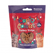 Rosewood Turkey Strips For Cats 40g