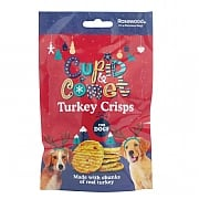 Rosewood Turkey Crisps For Dogs 80g