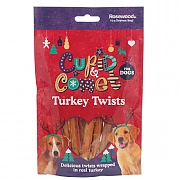 Rosewood Turkey Twists For Dogs 8 Pieces 85g