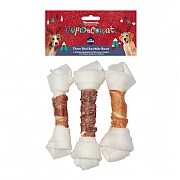 Rosewood Three Bird Rawhide Roast For Dogs 3 Pack 195g