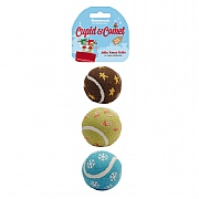 Rosewood Jolly Xmas Balls 3pc