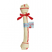 Rosewood Giant Rawhide Festive Bone 18in For Dogs