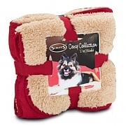 Scruffs Cosy Blanket 100 x 72cm Red