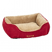 Scruffs Cosy Box Bed 60 x 50cm Red