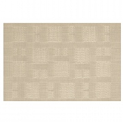 iStyle Teslin Woven Placemat - Cream Squares