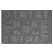 iStyle Teslin Woven Placemat - Grey Squares