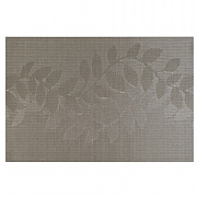 iStyle Teslin Woven Placemat - Taupe Leaf