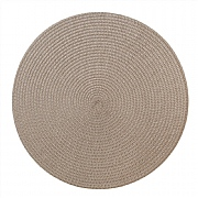iStyle Round Woven Mat Natural