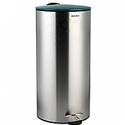 Progress BW05303R 30 Litre Soft Close Stainless Steel Pedal Bin - Teal
