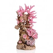 biOrb Pink Coral Reef Ornament Medium