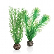 biOrb Green Feather Fern Set Small