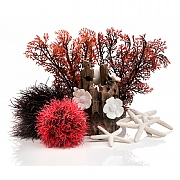 biOrb Red Forest Decor Set 15L