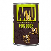 AATU Wet Duck & Turkey Adult Dog Food 400g