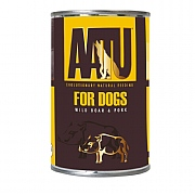 AATU Wet Wild Boar & Pork Adult Dog Food 400g