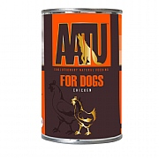 AATU Wet Chicken Adult Dog Food 400g