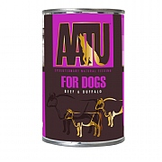 AATU Wet Beef & Buffalo Adult Dog Food 400g