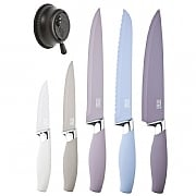 Taylors Eye Witness Brooklyn Stone 5 Piece Knife Set With Knife Sharpener