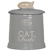 Banbury & Co Ceramic Cat Treats Storage Jar