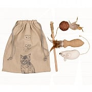Banbury & Co Luxury Cat Toys Gift Bag