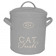 Banbury & Co Cat Treat Storage Tin