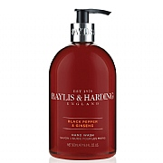 Baylis & Harding Men's Black Pepper & Ginseng Hand Wash 500ml<BR>