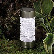 Smart Solar Sundance Stainless Steel Solar Stake Light