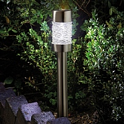 Smart Solar Radiance Stainless Steel Solar Stake Light