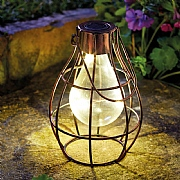 Smart Solar Eureka! Firefly LED Solar Lantern Copper