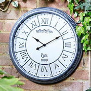 Outside In Metro Wall Clock 20""