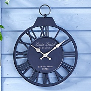 Outside In Vintage Wall Clock 12""