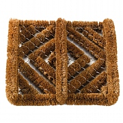 Muck Off! Coir & Wire Brush Scraper Mat 32x30cm
