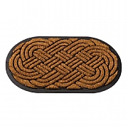 Outside In Heavy Duty MultiMat Celtic Knot Oval 75x45cm