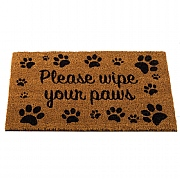 Wipe Your Paws Coir Mat - 75 x 45cm
