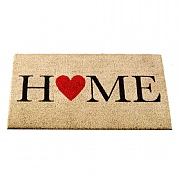 Home is Where the Heart Is Coir Mat - 75 x 45cm