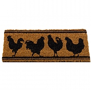 Rocking Roosters Mix-n-Mat - 53 x 23cm
