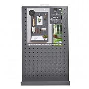 Burgon & Ball Hang It Pegboard - Charcoal