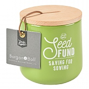 Burgon & Ball Seed Fund Money Box - Gooseberry
