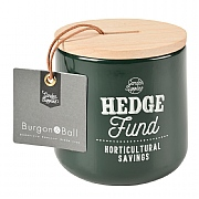 Burgon & Ball Hedge Fund Money Box - Frog