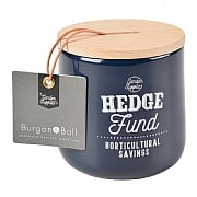 Burgon & Ball Hedge Fund Money Box - Atlantic Blue