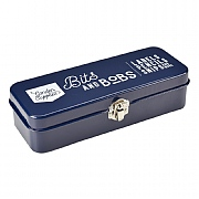 Burgon & Ball Bits & Bobs Storage Tin - Atlantic Blue