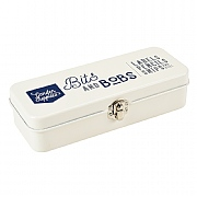 Burgon & Ball Bits & Bobs Storage Tin - Stone