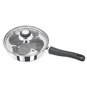 Judge Stainless Steel 4 Cup Egg Poacher - 20cm