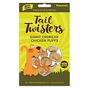 Rosewood Tail Twisters Giant Crunchy Chicken Puffs 20g