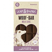 Rosewood Leaps & Bounds Woof-Bar Milk Chocolate 100g
