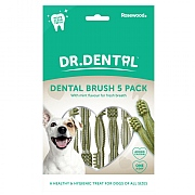 Rosewood Dr. Dental Dental Brushes 5 Pack