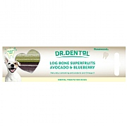 Rosewood Dr. Dental Superfruit Log Bone With Avocado & Blueberry 2 Pack 200g