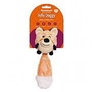 Rosewood Jolly Doggy Multi-Activity Fox Toy